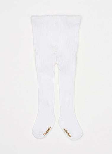 Katia & Bony Dream Bebek Külotlu Çorap  Beyaz